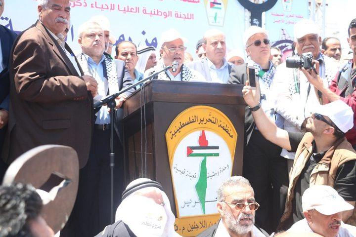 د.ابو هولي:القيادةالفلسطينية لن تقبل بديلا عن العودة
