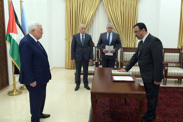 براك يؤدي اليمين القانونية أمام الرئيس رئيسا لهيئة مكافحة الفساد