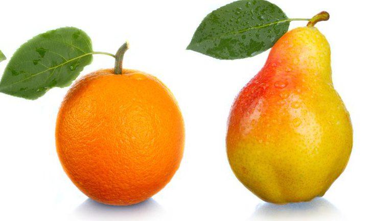 في رمضان: الكمثرى والبرتقال بعد الإفطار