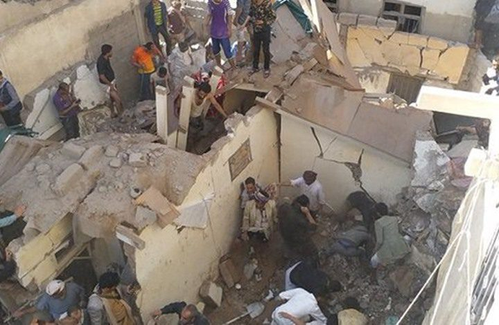 التحالف السعودي الإماراتي يشن غارات عدة في صنعاء
