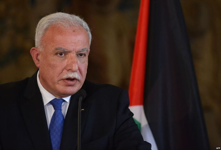 المالكي يؤكد التزام فلسطين بالقانون الدولي