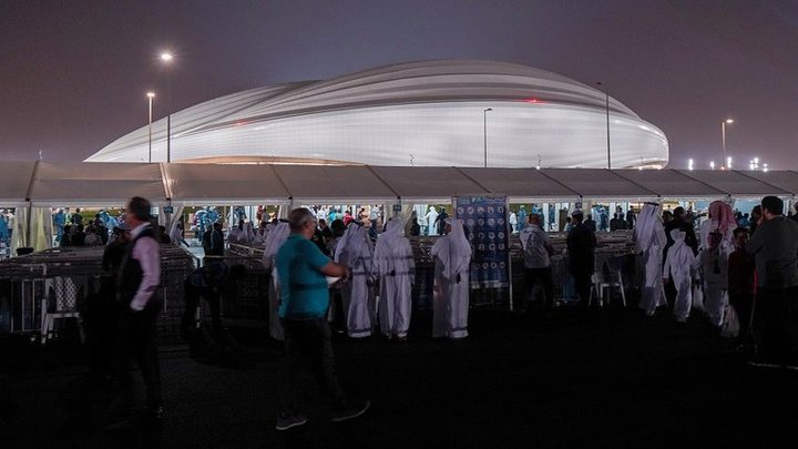 """افتتاح استاد """"الوكرة"""" ثاني ملاعب مونديال قطر 2022"""