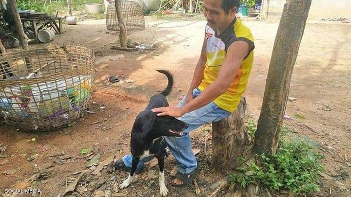 كلب ينقذ طفل رضيع دفنته أمه المراهقة خوفا من العار !
