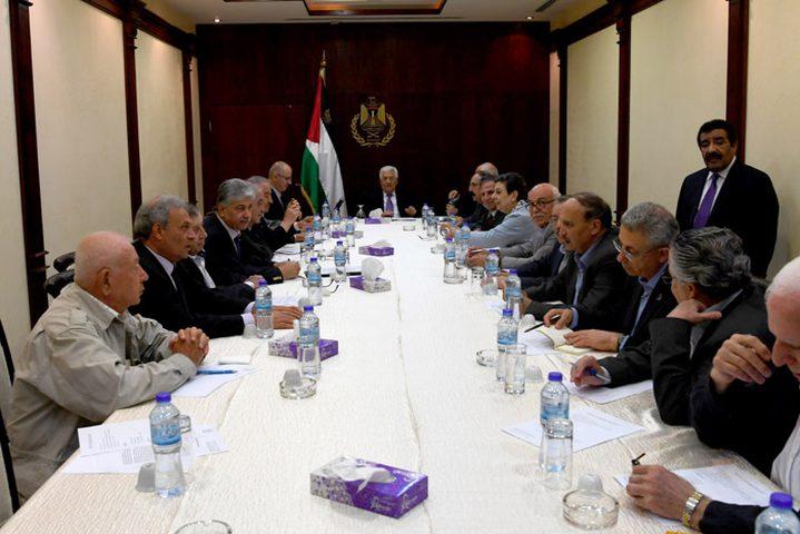 اجتماع تشاوري لتنفيذية منظمة التحرير خلال أيام