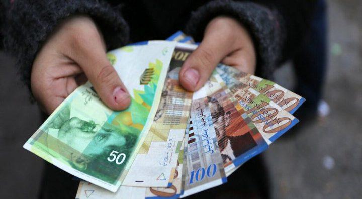 أسعار صرف الدولار والدينار مقابل الشيكل