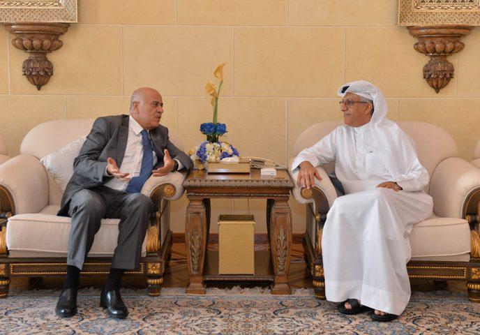 خلال لقائه الرجوب: رئيس الاتحاد الآسيوي يؤكد دعم الكرة الفلسطينية
