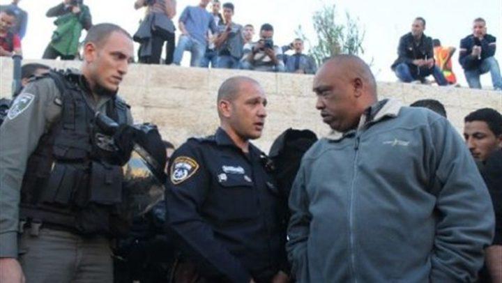 """الاحتلال يعتقل أمين سر """"فتح"""" في البلدة القديمة وناشطين مقدسيين"""