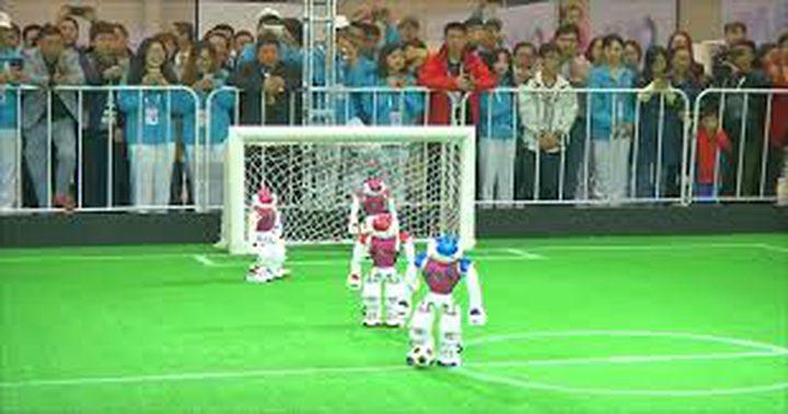بطولة كرة قدم للروبوتات في الصين