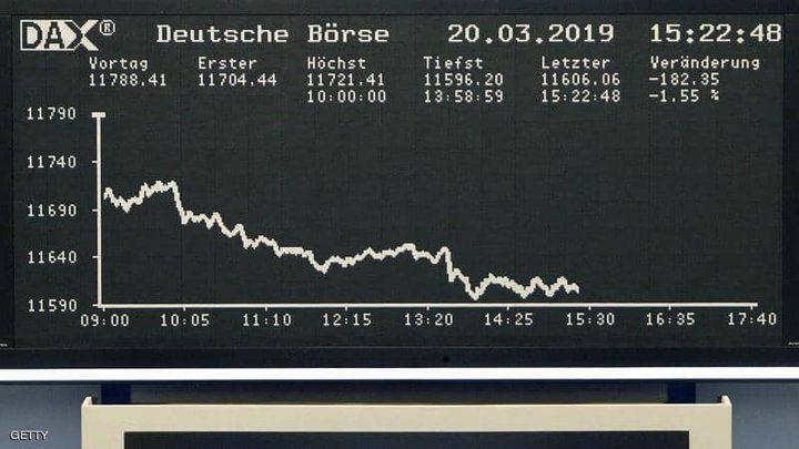 """أزمة """"هواوي"""" تلقي بظلالها على الأسهم الأوروبية"""