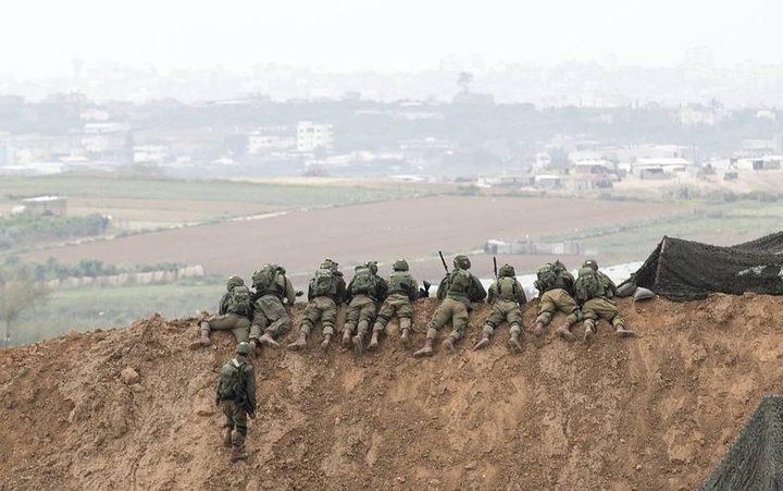 جيش الاحتلال يبدأ وضع سواتر ترابية شمال القطاع