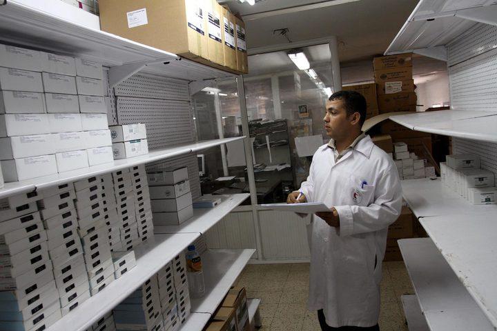 الصحة بغزة تحذر من مخاطر نفاذ الأدوية في المستشفيات