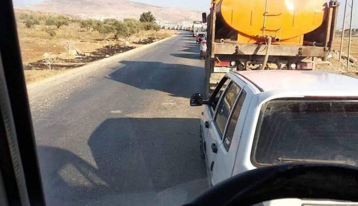 الاحتلال يغلق حاجز بيت فوريك شرق نابلس