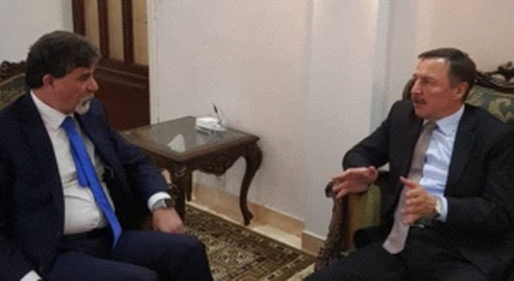 عبد الهادي يضع سفير روسيا بصورة مستجدات القضية الفلسطينية