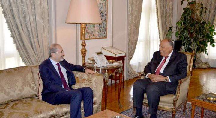 الأردن ومصر تؤكدان على التنسيق المستمر في القضايا الاقليمية