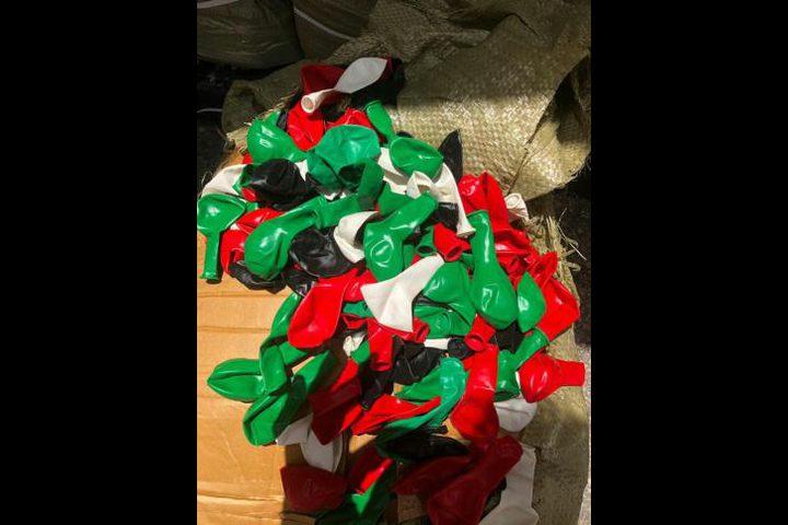 مكتب الجمارك في اسدود يعتقل تاجر اسرائيلي حاول نقل بالونات لغزة