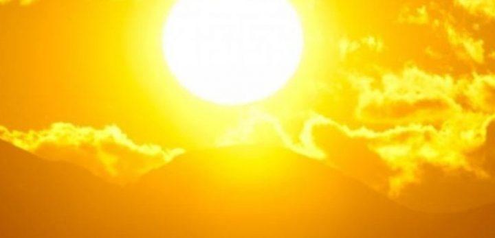 موجة حارة تضرب البلاد ودرجات حرارة تصل 44