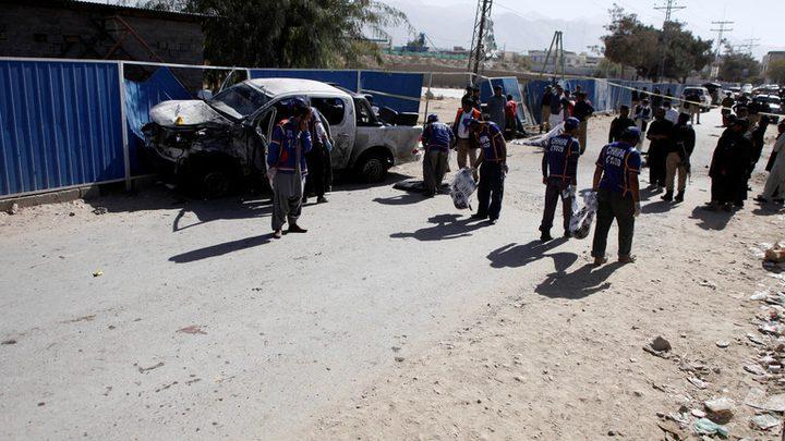 5 قتلى و13 جريحا بانفجار قرب مسجد أثناء صلاة الجمعة في باكستان
