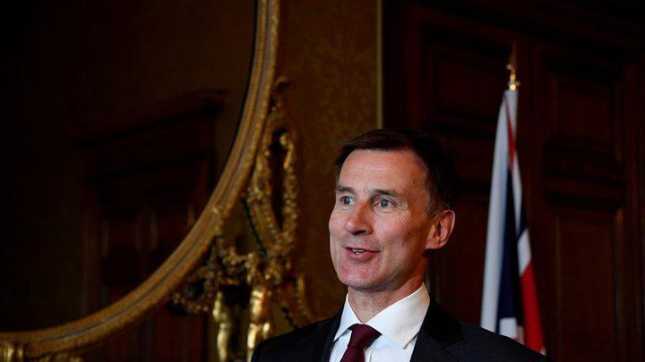 وزير الخارجية البريطاني يعلن ترشحه لزعامة حزب المحافظين خلفا لماي