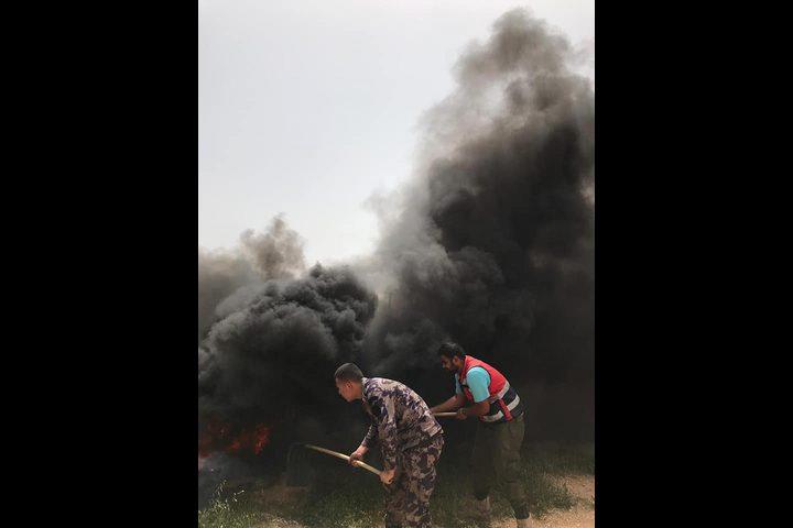 الحمد الله يحيي الدفاع المدني لجهوده في حماية الأرض والمواطنين