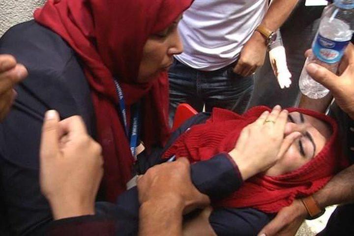 طواقم الهلال الاحمر تتعامل مع 95 حالة في المسجد الأقصى