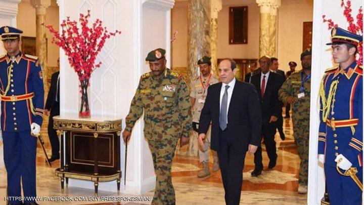 السيسي يؤكد دعم مصر الكامل لأمن واستقرار السودان