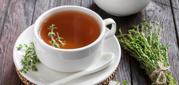 فوائد الشاي بالزعتر لجسم الانسان