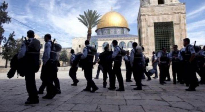 الاردن يطالب إسرائيل بوقف الاستفزازات في الأقصى