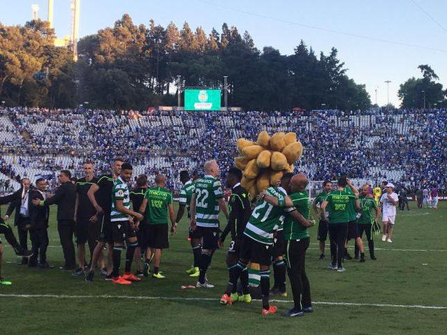 لشبونة يهزم بورتو ويتوج بكأس البرتغال للمرة الـ17 في تاريخه