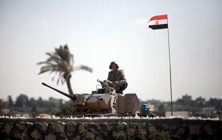 سقوط قذيفة مصرية بأرض فارغة بمدينة رفح جنوب القطاع