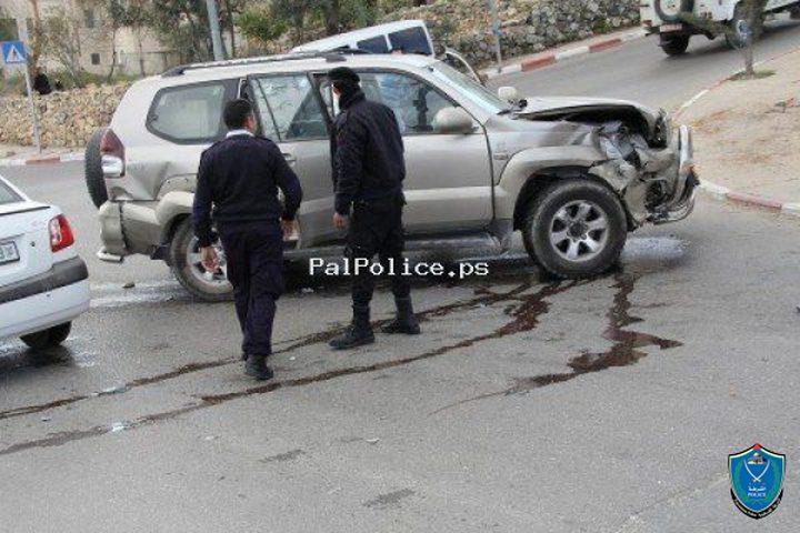 مصرع شخص وإصابة 253 آخرين في 281 حادث سير الأسبوع الماضي