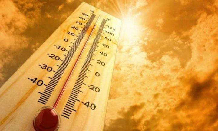 الحرارة أعلى من معدلها السنوي العام