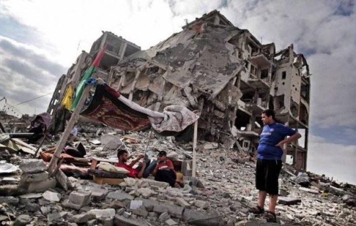 تأجير منازل لمواطنين دمرت بيوتهم بالعدوان الاخير على غزة