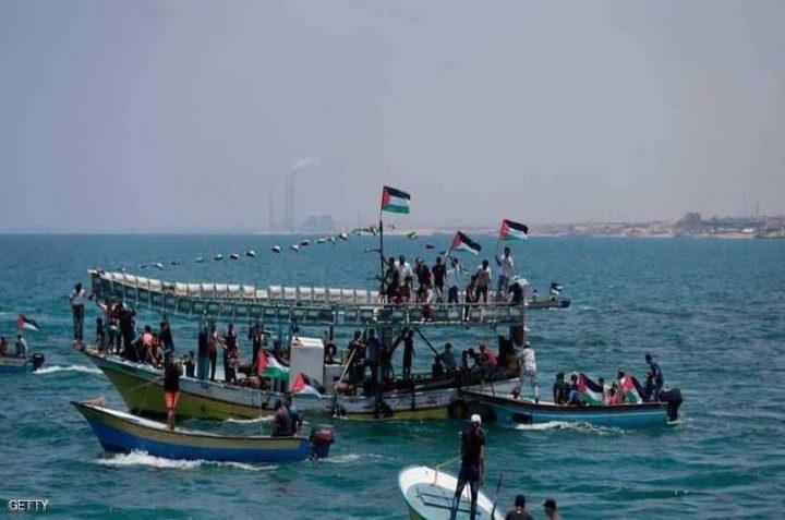 الاحتلال يوسع مساحة الصيد بغزة