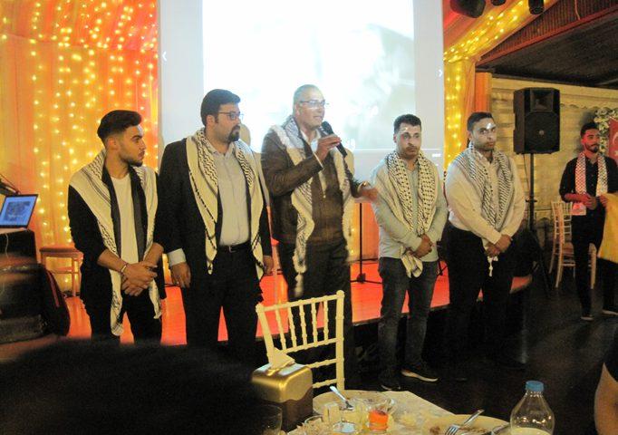 حركة فتح في اسطنبول تنظم إفطارًا جماعيًا وتعلن بدء نشاطات الشبيبة