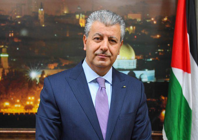 غانم يطلع سفير الأردن على مستجدات الأوضاع في فلسطين