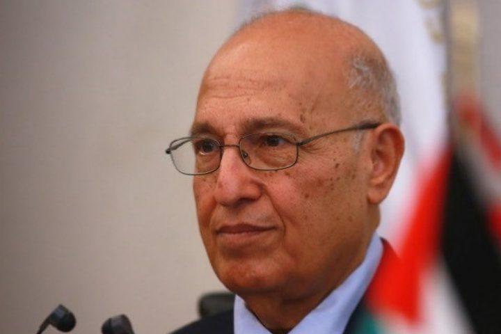 شعث: مباحثات لعقد اجتماع للاشتراكية الدولية في رام الله قريبا
