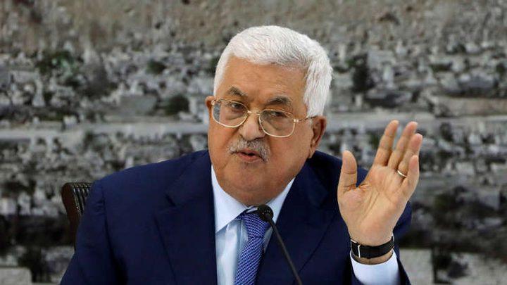 الرئيس:من يريد حل القضية الفلسطينية عليه أن يبدأ بالقضية السياسية