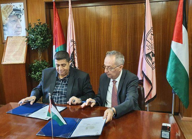 اتفاقية لدعم الطلبة المقدسيين في جامعة النجاح الوطنية