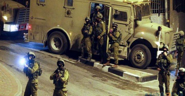 """الاحتلال يشن حملة اعتقالات ويزعم مصادرة """"كارلو"""""""