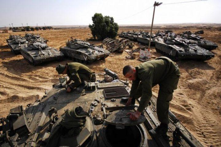 الاحتلال يدفع بتعزيزات لحدود غزة