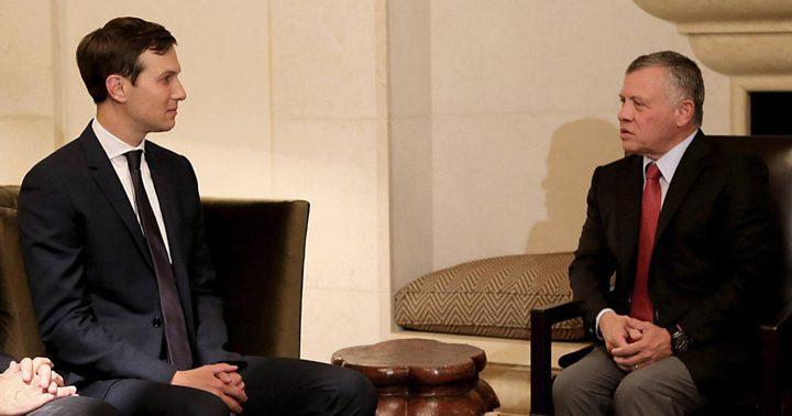 مبعوث ترامب يلتقي الملك عبدالله في الأردن غدا الأربعاء