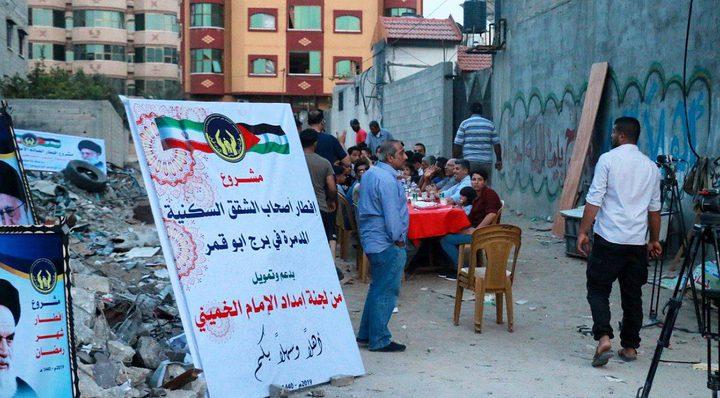 تواصل توزيع المساعدات على الفقراء والمحتاجين في غزة بدعم إيراني