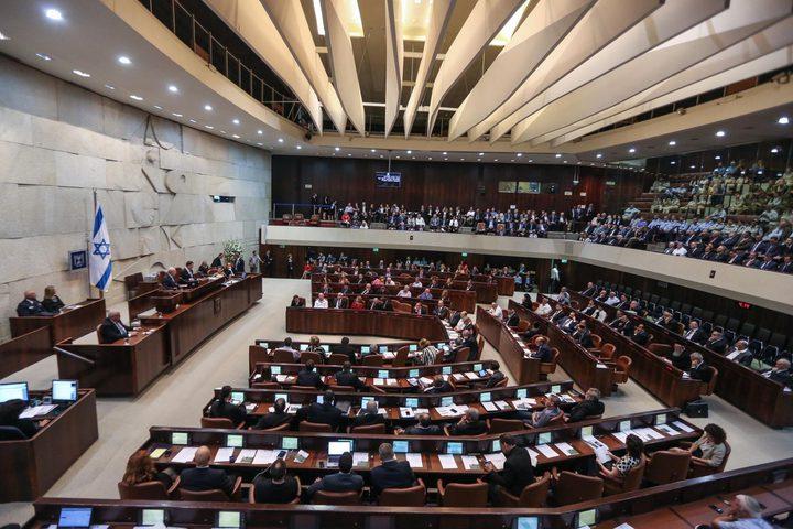 """""""الكنيست"""" يصادق على حل نفسه وانتخابات جديدة في إسرائيل"""