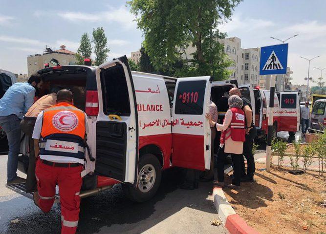الشرطة: 13 إصابة بحادث سير بين 3 مركبات شمال رام