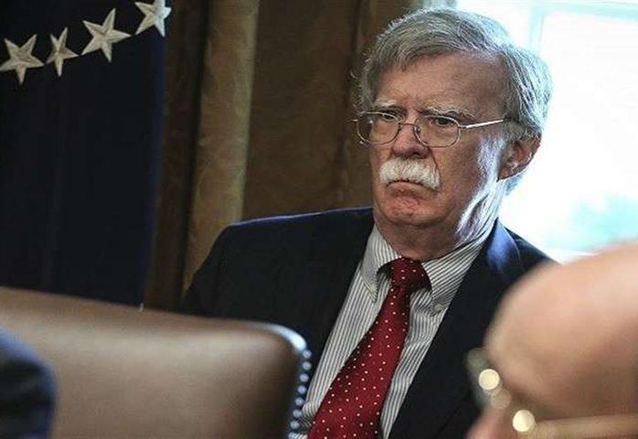 مستشار الأمن القومي الأمريكي جون بولتون يصل إلى الإمارات