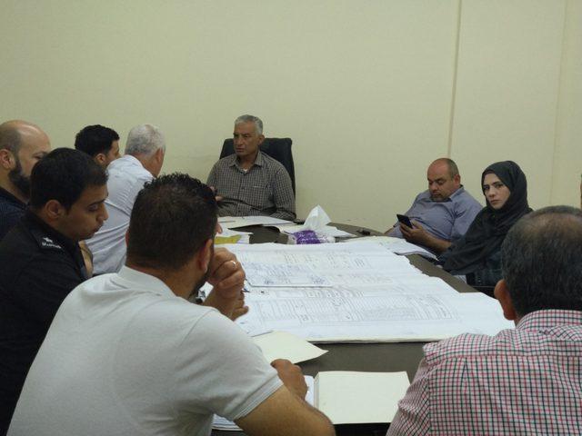 انعقاد اللجنة الاقليمية للتنظيم والتخطيط في قلقيلية