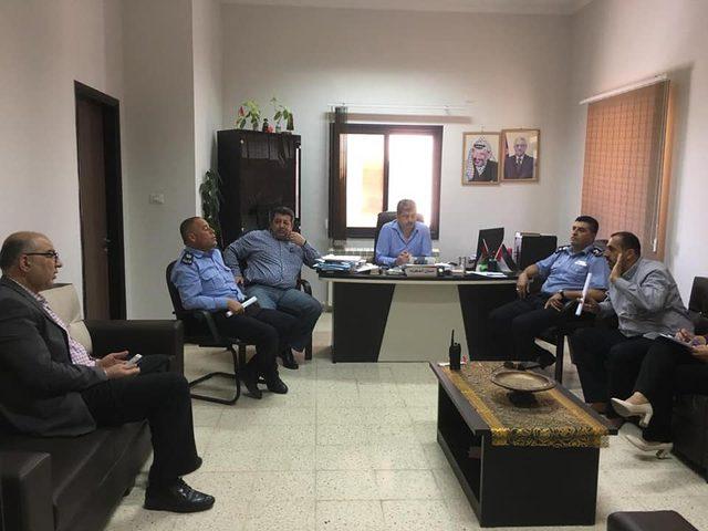 لجنة سير نابلس تعقد اجتماعاً غير عادي لعيد الفطر