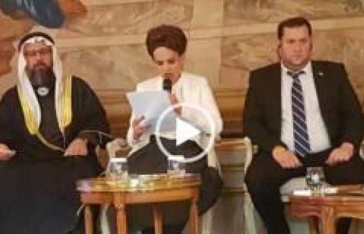 اسرائيل تحرض على السلطة الفلسطينية في البرلمان الفرنسي