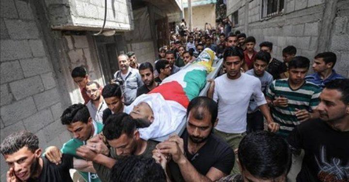 استشهاد طفل فلسطيني متأثراً بجراحه من قصف مخيم النيرب