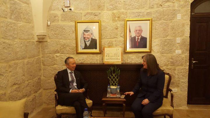 فلسطين واليابان يؤكدان استمرار التعاون في المجال السياحي